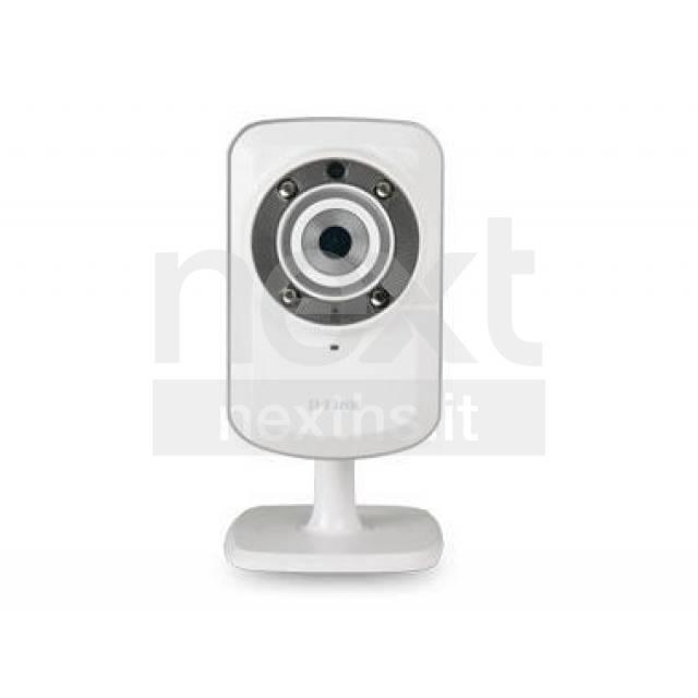 D-link DCS-932L Videocamera WiFi Mydlink infrarossi/notturna