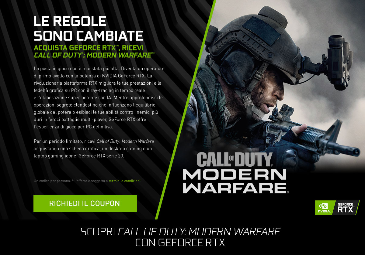 RTX Call of Duty Modern Warfare