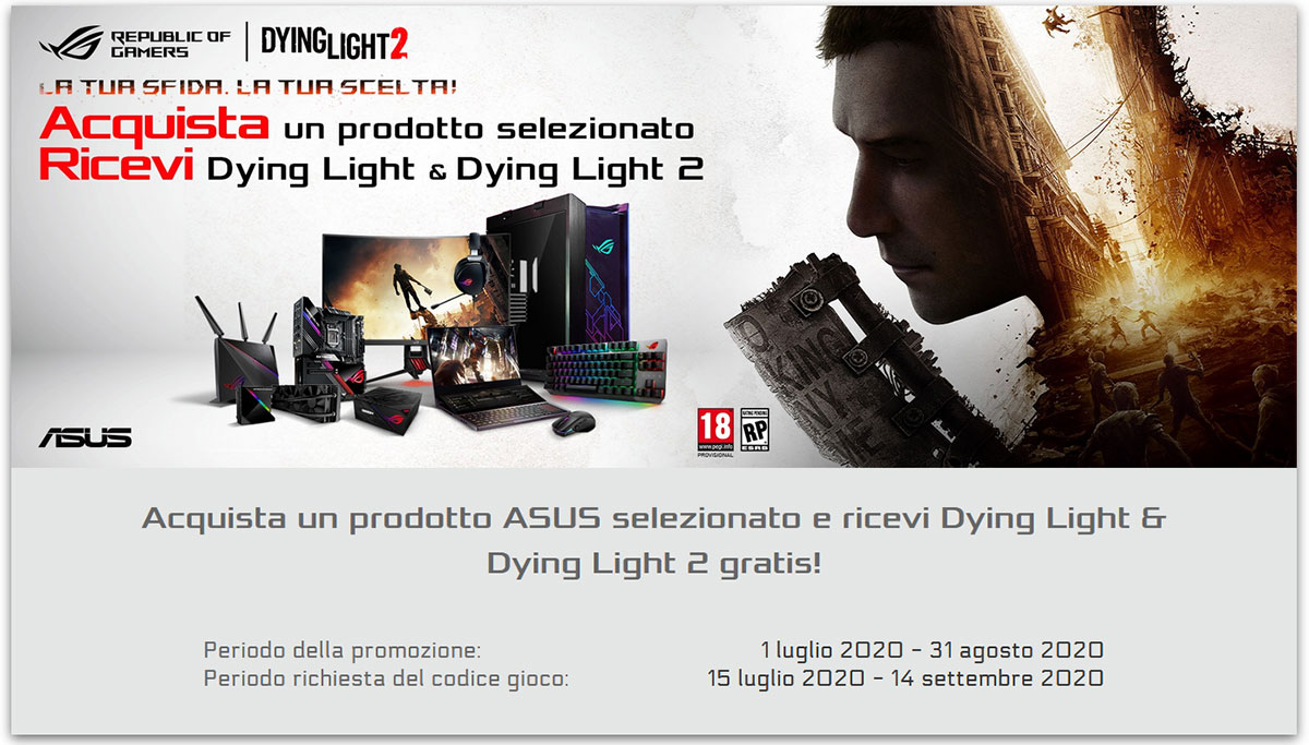 ASUS Promozione Dying Light
