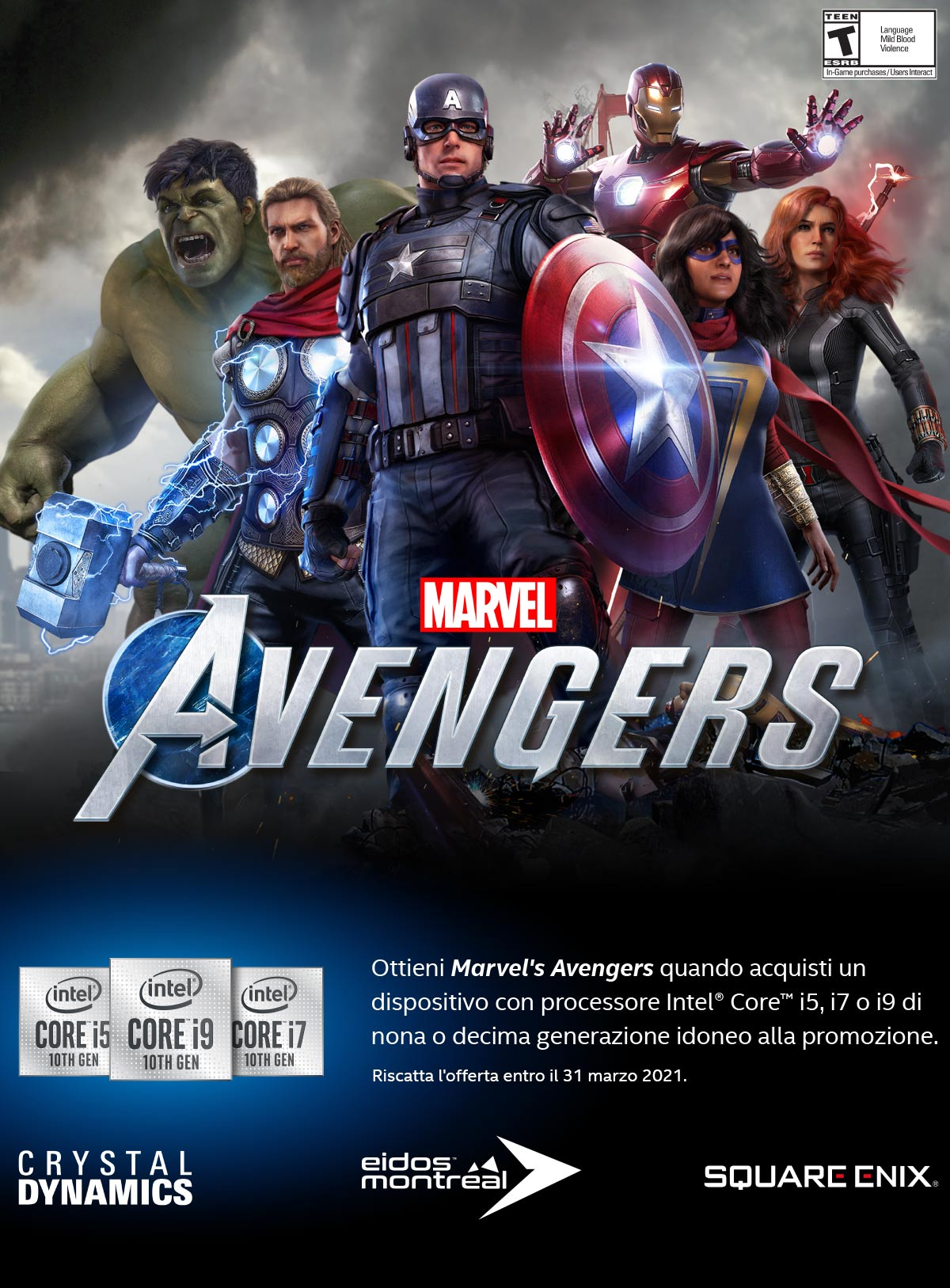 Intel Marvel Avengers