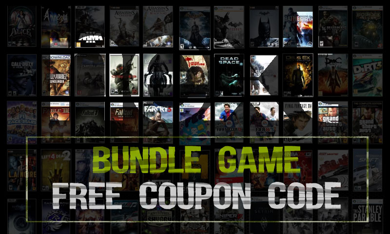 Bundle Game - Request Coupon
