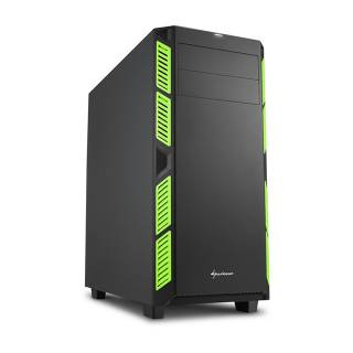Sharkoon ai7000 silent middle tower no power minitx matx for Case pc colorati